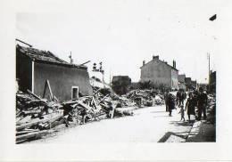 Photo Bombardement Usine Dunlop Du 15 Septembre 1943 - Montlucon