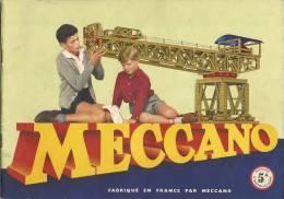 MECCANO  MANUEL  DE  CONSTRUCTION     NO  5  A