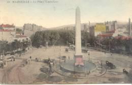 CPA - MARSEILLE - LA PLACE CASTELLANE (1908) - Castellane, Prado, Menpenti, Rouet