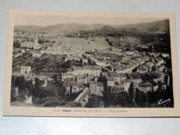 Carte Postale Ancienne : JAUJAC : Vue Générale - France