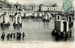 N°29399 -cpa Boulogne Sur Mer -l'heure Du Bain- - Boulogne Sur Mer
