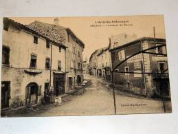 Carte Postale Ancienne : JAUJAC : Carrefour Du Terras , Animé - France