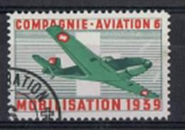 FP 315 - FELDPOST Flieger / Aviation COMPAGNIE AVIATION 6 Oblitéré - Vignettes