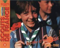 CPSM - SCOUTS DE FRANCE 1989-1990 - Scouting