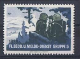 FP 324 - FELDPOST Flieger-Beobachter / Guetteurs FL.BEOB.U.MELDE-DIENST GRUPPE 5 Neuf - Soldaten Briefmarken