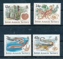 BRITISH ANTARCTIC TERRITORY  Mi.Nr. 173-176 Die Natur Im Mesozolkum- MNH - Britisches Antarktis-Territorium  (BAT)