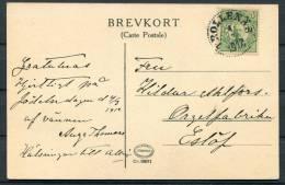 1912 Sweden Ulfasa Postcard -Trollenas
