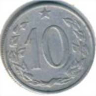 Tschecheslowakei 10 Haleru 1962 - KM 49.1 - Vz - Tschechoslowakei