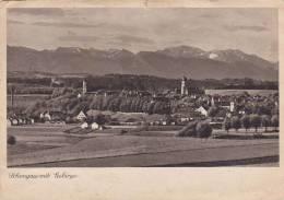 Cp , ALLEMAGNE , SCHONGAU Mit Gebirge - Weilheim