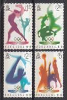 Hong Kong MNH Scott #739-#742 Set Of 4 1996 Summer Olympics - Gymnastics, Diving, Running, Basketball - Nuevos