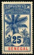 Senegal (1906) N 37 * (charniere)