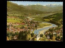 BAD TÖLZ Toelz An Der Isar : X2 : Stadt Mit Juifen & Demmeljoch + Stadt - Bad Toelz