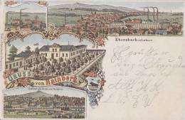 AK Litho Gruss Vom Hainberg, Ebersbach In Sachsen Gelaufen 11.10.99 - Deutschland