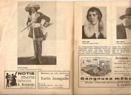 Latvia - Latvian National Opera Programm 1933 - 1934 - 28 Pages - R - Programs