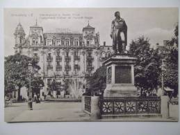 Cpa Strassburg Kleberplatz U Rotes Haus - Monument Kleber Et Maison Rouge - GI01 - Strasbourg