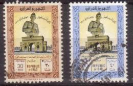 Irak 1961 Mi 305+306 Dag Van De Landmacht 30F + 40F - Irak
