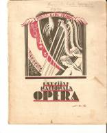 Latvia Old Latvian National Opera Program Programm 1932 - 1933 - 24 Pages - R - Programs