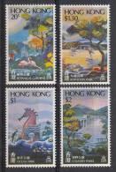 Hong Kong MNH Scott #365-#368 Set Of 4 Botanical Gardens, Ocean, Komloon, And Country Parks - Nuevos
