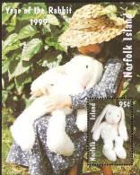 Norfolk Island......:    1999 Year Of The Rabbit Souvenir Sheet - Norfolk Island