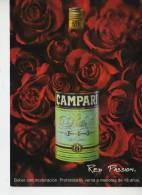 PUBLICIDAD DE CAMPARI  RED PASSION  ARGENTINA  OHL - Publicidad