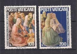 VATICANO     1975         ANNO INTERNAZIONALE DELLA DONNA       SASS. 591-592      MNH    XF - Nuovi