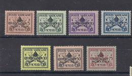 VATICANO 1939 SEDE VACANTE SASS. 61-67 MLH XF - Nuovi