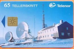 SVALBARD - N-075 Isfjord Radio Arctic, Misprint, 1996, Used
