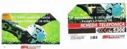 TELECOM ITALIA - C.& C. 2821  -  VIAREGGIO, 50^ TORNEO MONDIALE CALCIO COPPA CARNEVALE 1998           - USATA - Italia