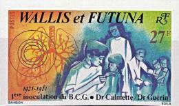 WALLIS & FUTUNA 1981 VACCINE TB / MEDICINE / DOCTORS / NURSES  MNH ** Neuf / POSTFRISH Imperforated / NON-DENT. - Jobs