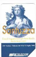 TELECOM ITALIA - C.& C. 2935  - PALERMO,  SANTUZZA, SANTA ROSALIA       - USATA - Italia
