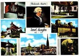 PC5583 Postcard: Josef Haydn Multi-View - Muziek En Musicus