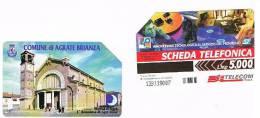 TELECOM ITALIA - C.& C. 2992  - COMUNE DI AGRATE BRIANZA: MERCA D' AGRA'           - USATA - Italia