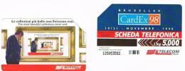 TELECOM ITALIA - C.& C. 2996 - 1998 BRUXELLES: CARDEX 98       - USATA - Italia