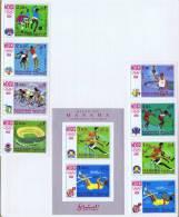 1968  Jeux Olympiques De Mexico Sauts, Football, Basketball, Cyclisme, Stade Michel 77-84, Bloc 5B * - Manama