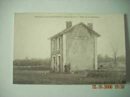 SN  96   BEAULIEU SOUS PARTHENAY  GARE DE LA MEILLERAYE   RETIRAGE  1990 - France