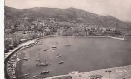 1957 MONACO - VUE PANORAMIQUE SUR LA CONDAMINE ET MONTE CARLO - Monaco