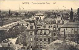 CARTE  POSTALE      PARIS         PANORAMA LES HUIT PONTS - Notre Dame De Paris