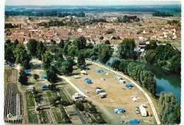 41* SELLES SUR CHERCPSM (10x15cm) Le Camping Sur Les  Bord Du Cher - Selles Sur Cher
