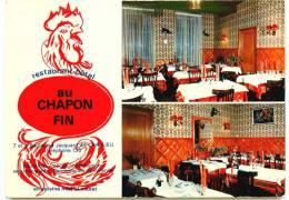 "42* CHARLIEU CPM (10x15cm) Restaurant Hotel """"au Chapon Fin"""" - Charlieu"