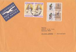 Marcophilie, LETTRE COVER ETHIOPIA ,19.., ..  Pour La SUISSE EMPEROR THEODORE CYCLISME OLYMPIQUE /3858 - Radsport