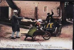 PROGRES DE LA LOCOMOTION - Taxi & Carrozzelle