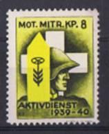 FP 333 FELDPOST Motorisierte Truppen / Troupe Motorisées MOT.MITR.KP.8 Neuf - Soldaten Briefmarken