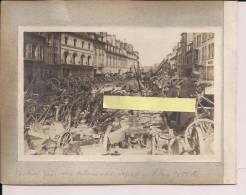 Villers Cotterets Aisne Butin Pris Aux Allemands Zouaves WWI Ww1 14-18 1.wk 1914-1918 Poilus - Krieg, Militär