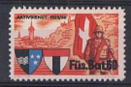 FP 344 FELDPOST Infanterie Füs. Bat. 60 Neuf - Soldaten Briefmarken