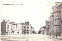 Bruxelles-Saint-Gilles. - L'avenue Ducpétiaux 1906, Circulée - St-Gilles - St-Gillis