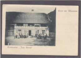 Allemagne - Restauration  Zum Hirsch - Gruss Aus Manzenau ? - Pionniere - Gars Am Kamp