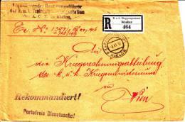 POLAND / Austrian  Registered Cover Official - Non Classés
