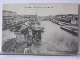 (29) - BREST - VUE GENERALE DU PORT MILITAIRE - BATEAUX - 1916 - Brest