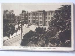 (29) - BREST - HOTEL DES P.T.T. PLACE ANATOLE FRANCE - Brest
