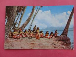 France > Polynésie Française Tahitian Hula Girls    Not Mailed---   ---ref 866 - Polynésie Française